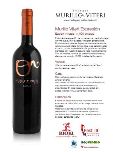 Vino Rioja Autor Murillo Viteri Expresion