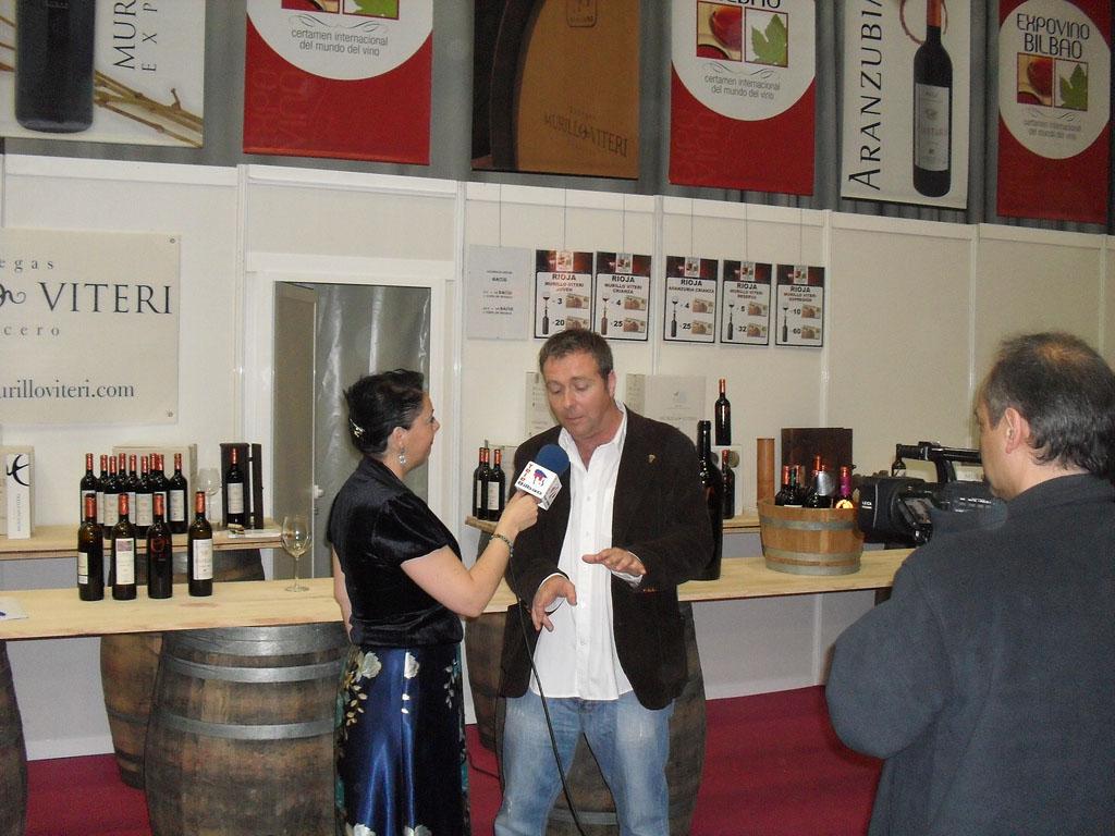 Bodegas Murillo Viteri en Expovinos 2011