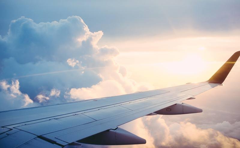 vino y aviones