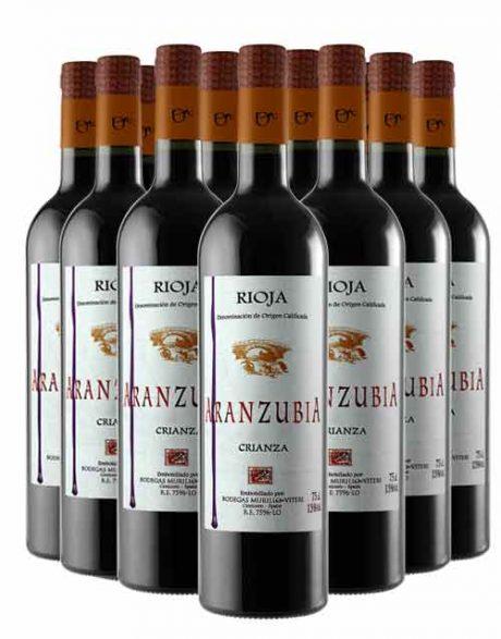 12 Botellas Rioja Crianza Aranzubia