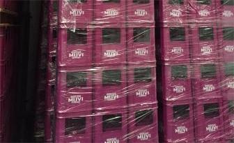 Cajas de plástico recicladas