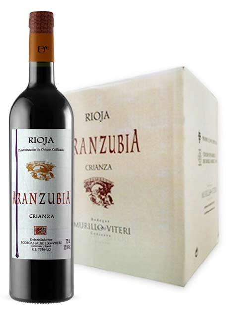 Comprar Vino Rioja Crianza Aranzubia