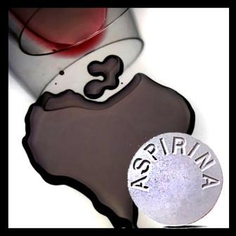Propiedades de la aspirina en el vino