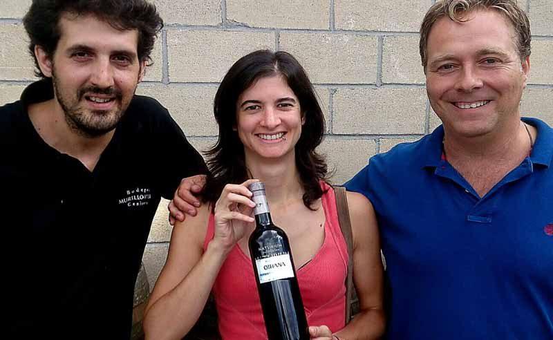 El vino Rioja con la txupinera de Bilbao