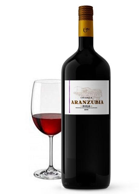 Botellas Magnum Vino Rioja Crianza Aranzubia