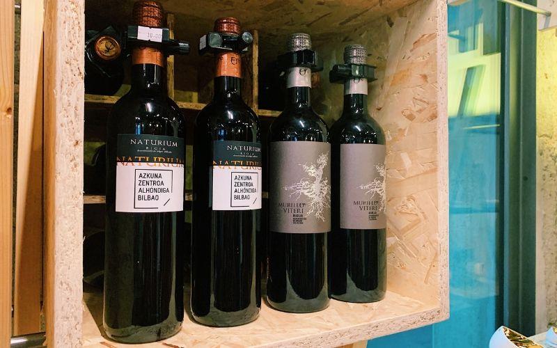 vino personalizado Alhondiga