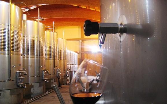Depósitos Vino Rioja Murillo Viteri