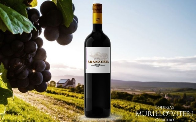 Nueva Etiqueta Rioja Crianza Aranzubia
