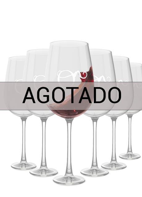 Copas de vino 6 uds.